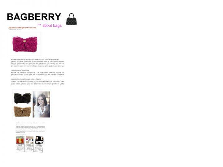 Bagberry Mai 2012
